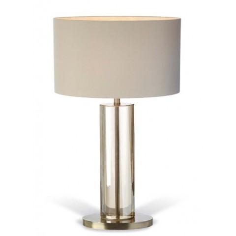 RV Astley - Lisle Cognac Crystal stolní lampa