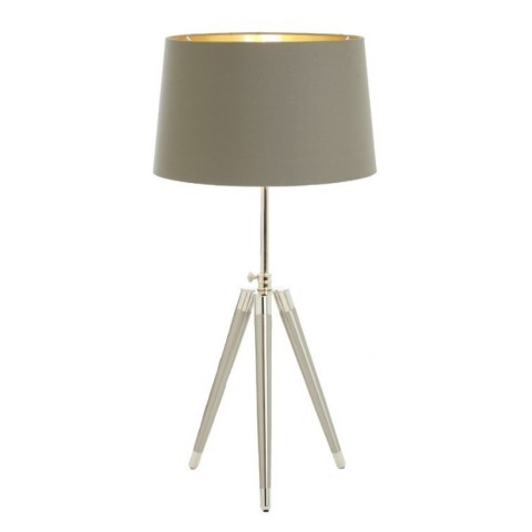 RV Astley - Lorca Tripod Nickel stolní lampa