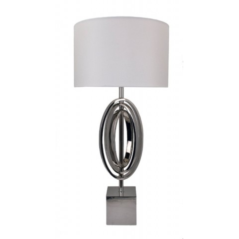 RV Astley - Seraphina Nickel stolní lampa
