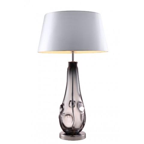 RV Astley - Silvana smoke glass stolní lampa