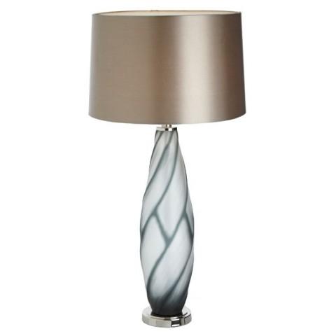 RV Astley - Sofia grey Glass stolní lampa