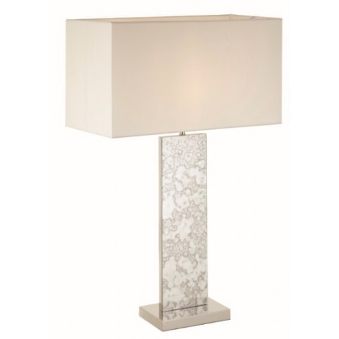 RV Astley - The Laceby nickel tall stolní lampa