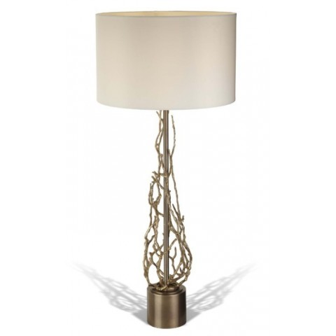 RV Astley - This Brinley Antique Brass stolní lampa