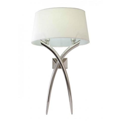 RV Astley - Adrianna Nickel nástěnná lampa