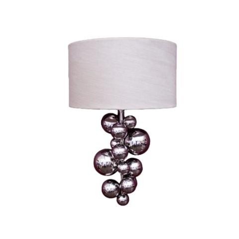RV Astley - Ayla Nickel nástěnná lampa