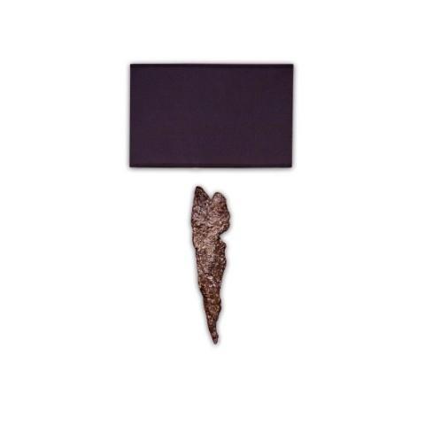 RV Astley - Black Shade Small Rectangle nástěnná lampa