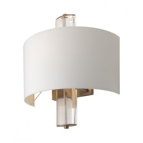 RV Astley - Blea Antique brass finish nástěnná lampa
