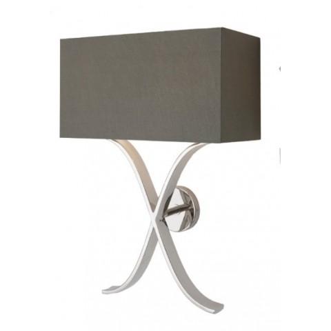 RV Astley - Byton Nickel nástěnná lampa