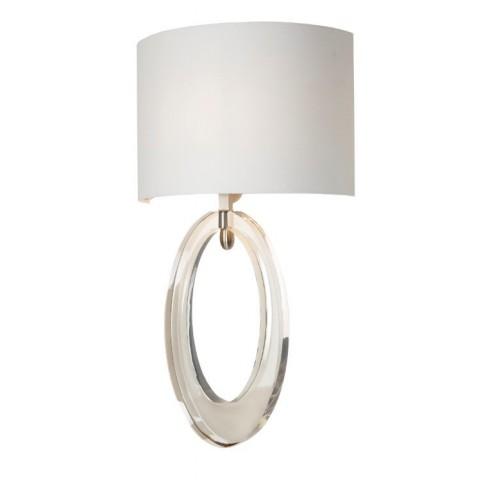 RV Astley - Elian Cognac Crystal nástěnná lampa