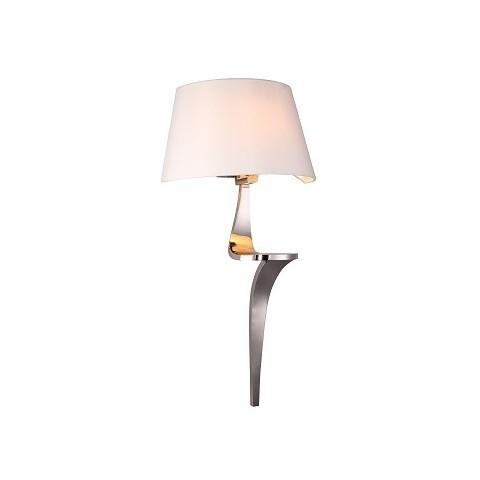 RV Astley - Enzo pair of Nickel nástěnná lampa