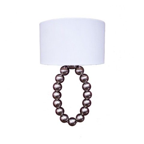 RV Astley - Layla Nickel Ball nástěnná lampa