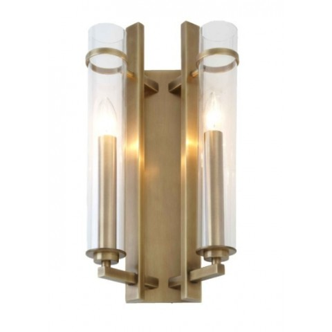 RV Astley - Louis 2 Light nástěnná lampa