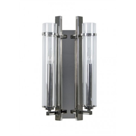 RV Astley - Louis Nickel 2 Bulb nástěnná lampa