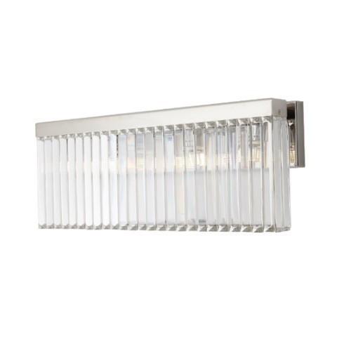 RV Astley - Melton Nickel and Crystal nástěnná lampa