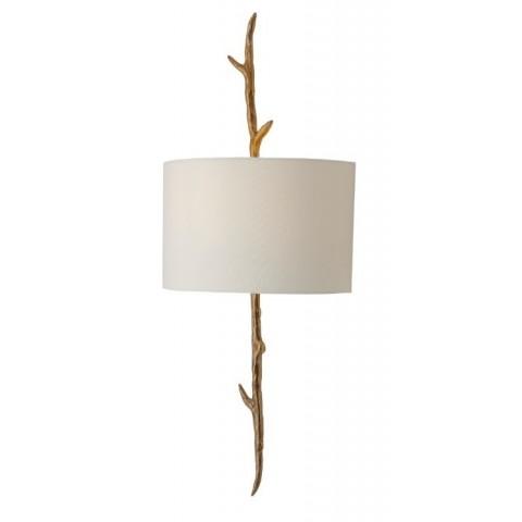 RV Astley - Nostelle  Solid Brass Left nástěnná lampa