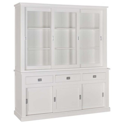 Richmond Interiors - Vitrína Boxx 2x3-doors 3-drawers