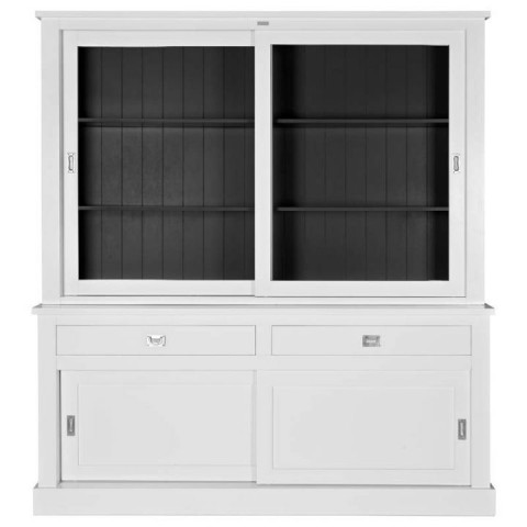 Richmond Interiors - Vitrína Boxx 2x2-doors 2-drawers