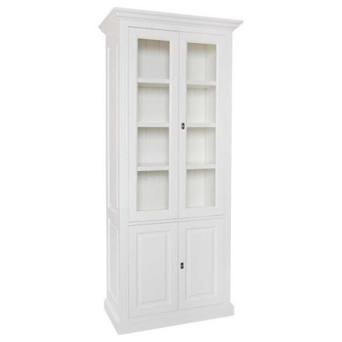 Richmond Interiors - Vitrína Provence 2x2-doors 3-shelves