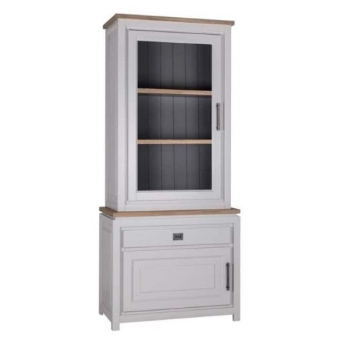 Richmond Interiors - Vitrína Ritz 2x1-doors 1-drawer