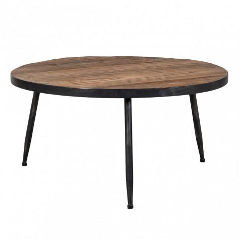 Richmond Interiors - Konferenční stolek Dingo with iron frame 80cm