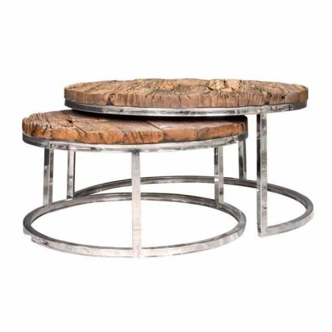Richmond Interiors - Konferenční stolek Kensington set of 2 round