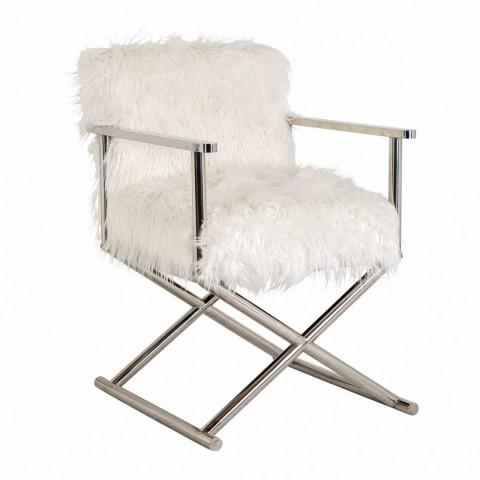 Richmond Interiors - Jídelní židle Abbey faux sheep
