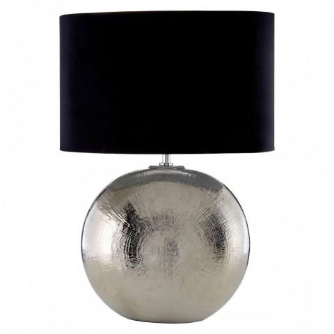 Kensington - Jarvis Silver stolní lampa