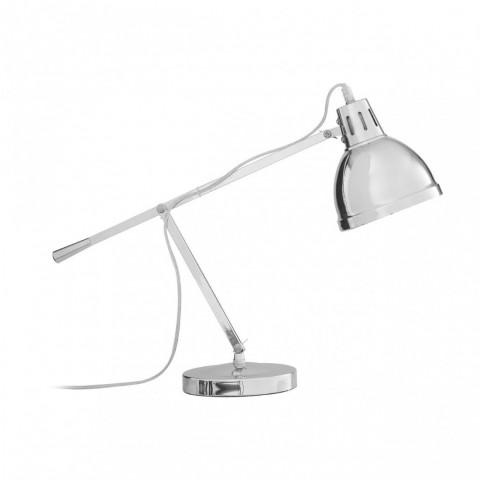 Kensington - Jasper Silver stolní lampa