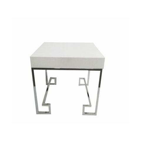Kensington - Allure White Silver odkládací stůl