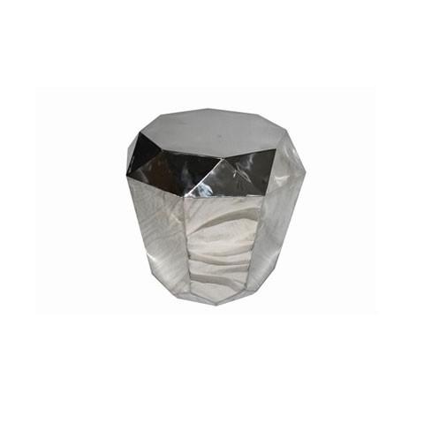 Kensington - Allure Silver Steel odkládací stůl