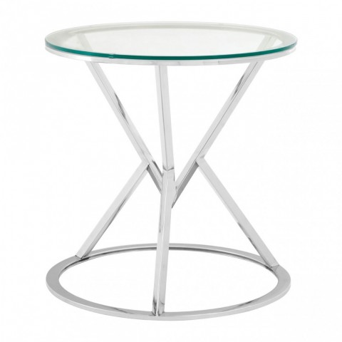 Kensington - Allure Triangle Silver odkládací stůl