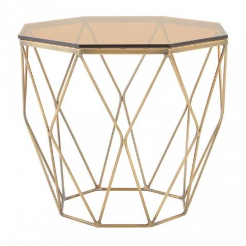 Kensington - Allure Octogon Bronze odkládací stůl