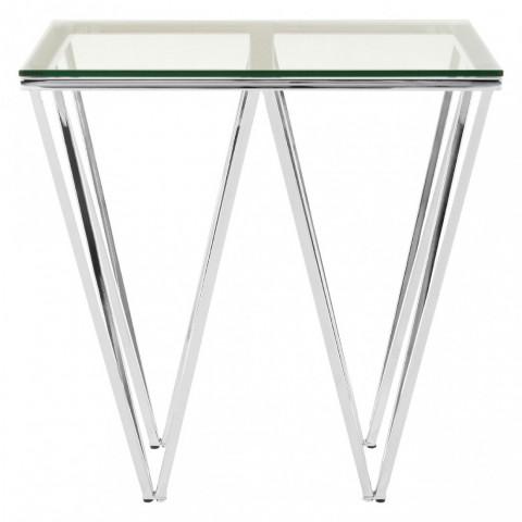 Kensington - Allure End Silver odkládací stůl