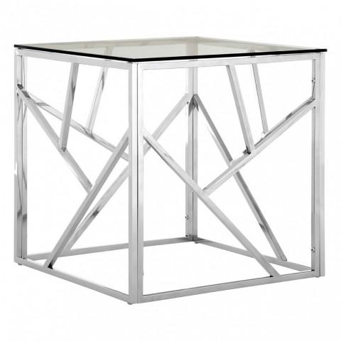 Kensington - Allure Side Silver odkládací stůl