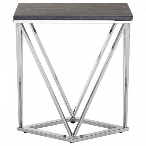 Kensington - Allure Rectangular Silver End odkládací stůl