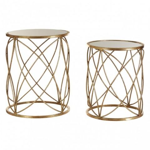 Kensington - Arcana Ring Gold Side odkládací stůl