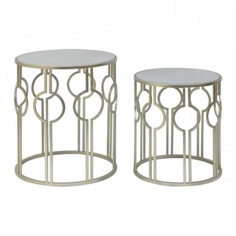 Kensington - Avantis Circular Metal odkládací stůl