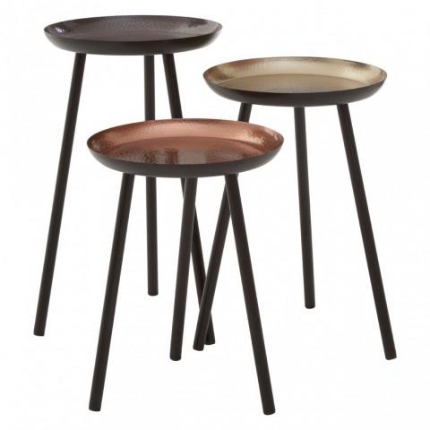 Kensington - Complements Round Side odkládací stůl