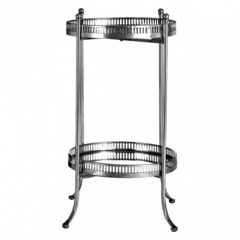 Kensington - Reza Antique Round Tray odkládací stůl