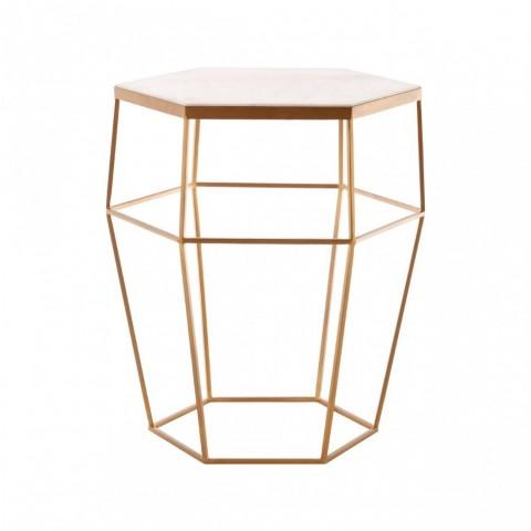 Kensington - Shalimar Hexagonal Side odkládací stůl