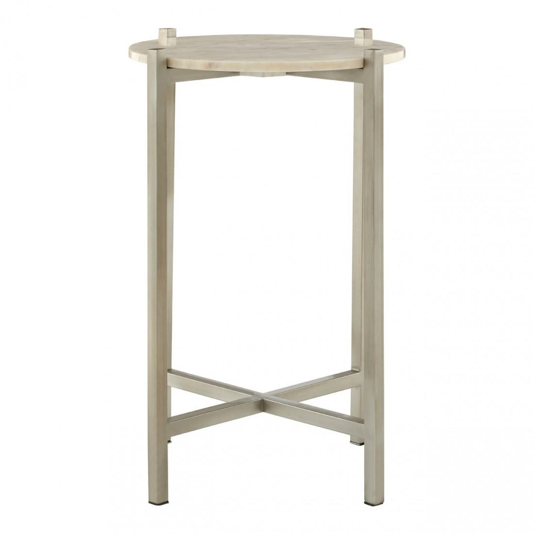 Kensington - Templar White MarbleLattice odkládací stůl