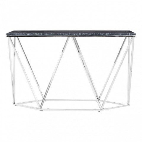 Allure Rectangular Silver Konzolový stůl