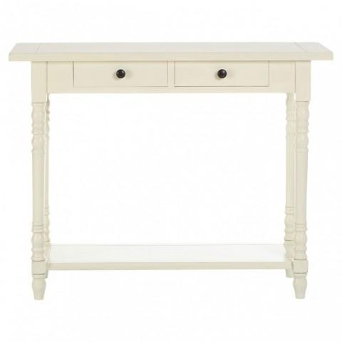 Heritage White 2 Fiókos Konzolový stůl