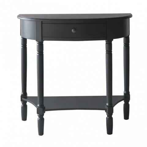 Heritage Black Fiókos Konzolový stůl