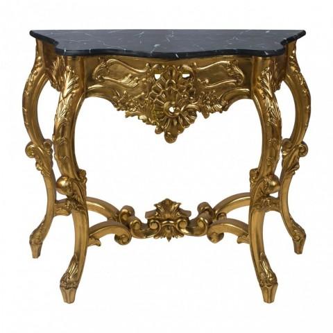 Marseille Gold Konzolový stůl