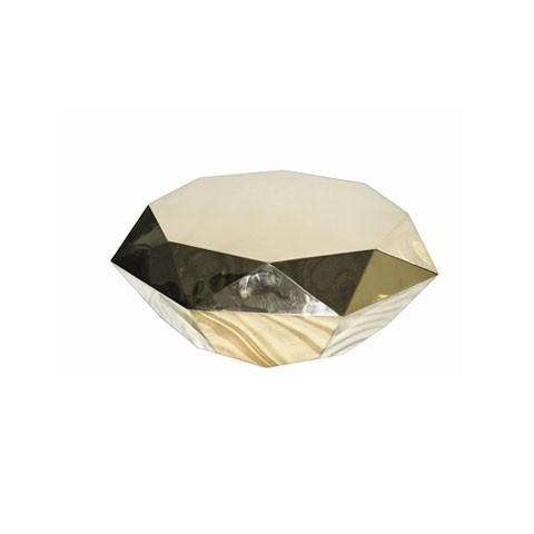 Kensington - Allure Coffee Gold Dohányzóasztal