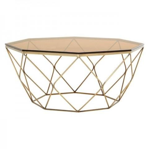 Kensington - Allure Coffee Bronze Dohányzóasztal