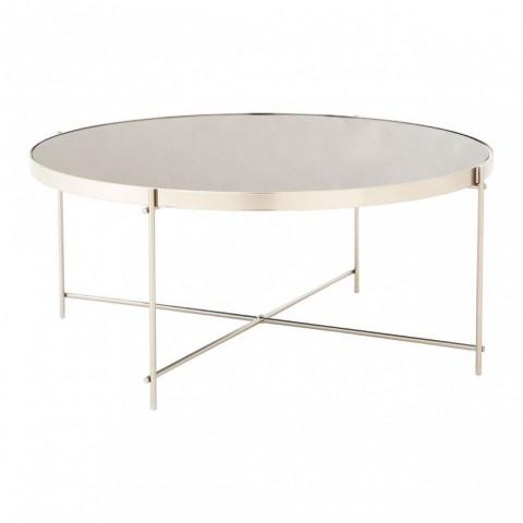 Kensington - Allure Grey Mirror Dohányzóasztal