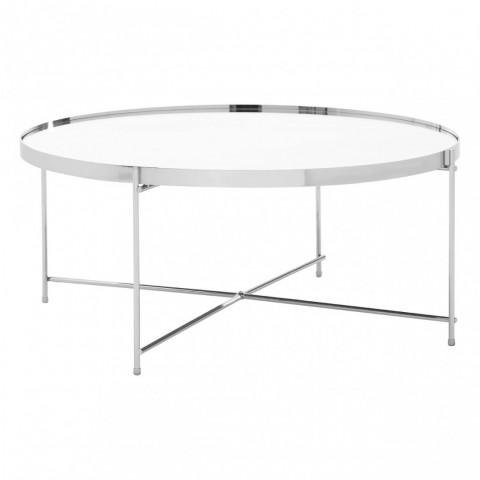 Kensington - Allure Silver Mirror Dohányzóasztal