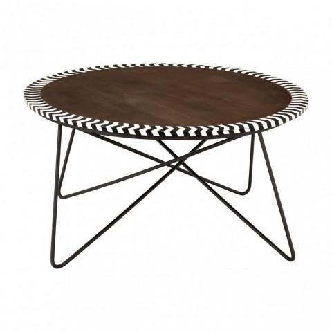 Kensington - Artisan Acacia Wood Dohányzóasztal